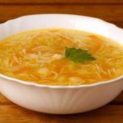 Суп куриный с вермишелью Леовит
