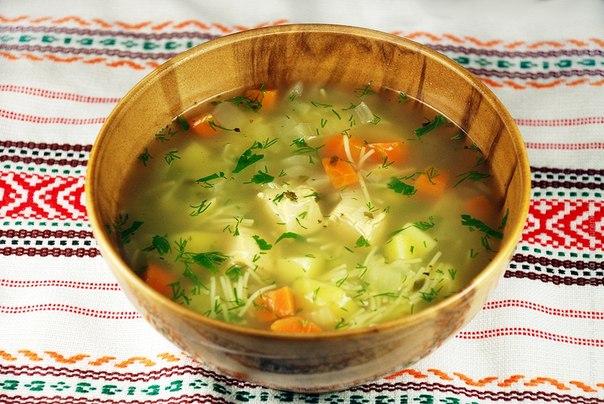 Суп из курицы с лапшой и картошкой пошагово с