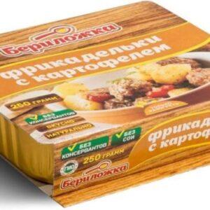 Фрикадельки с картофелем Бериложка