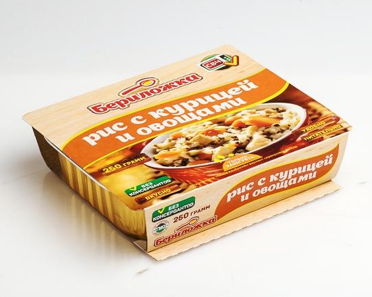Рис с курицей и овощами Бериложка